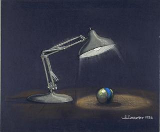 Concept Art, Luxo Jr., 1986
