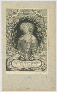 Print, Portrait of Anna Margaret