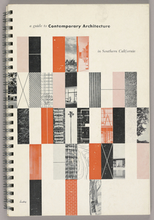 Print/book, A Guide to Contemporary Architecture in Southern California, 1951