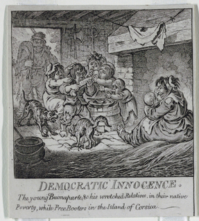 "Print, ""Democracy, or a Sketch o"
