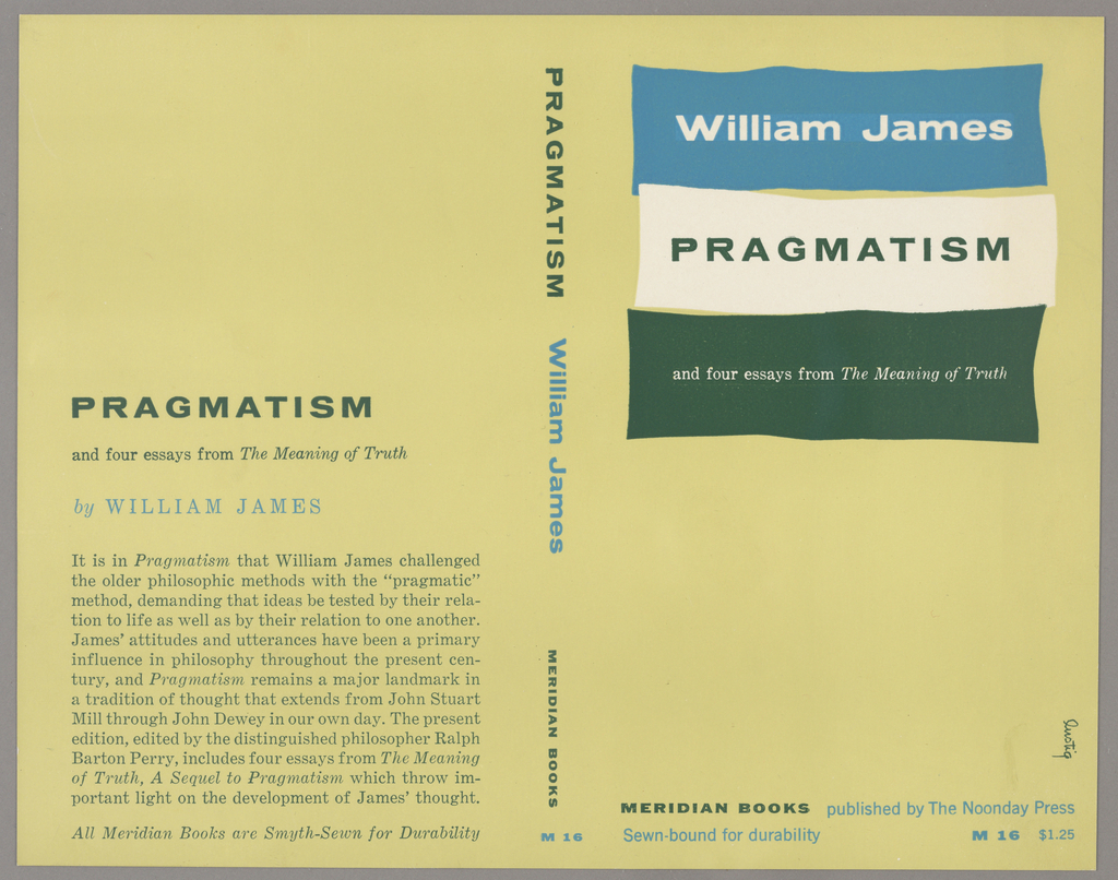 The bookjacket backgrounhd is a light green. The title and author are highlighted by blocks of blue, white and green. On the spine the title, author and publisher names are written vertically. On the back cover are the title, author name and synopsis of the book. Produced for Meridian Press.