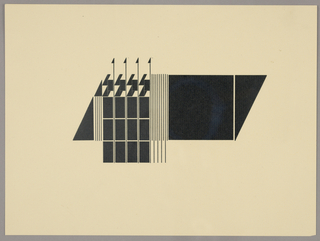 Image of geometric shapes and lines, probably to be incorporated into literature or a letterhead.