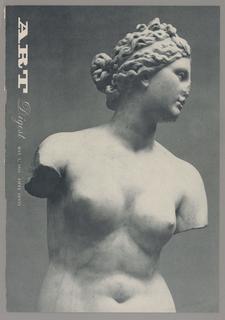 Magazine Cover, Art Digest