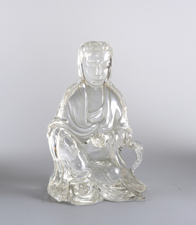 Seated Guanyin (?) Devotional Sculpture, 19th century