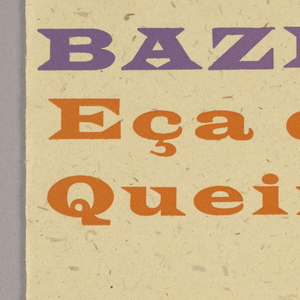 Book cover with text printed on cream colored paper.