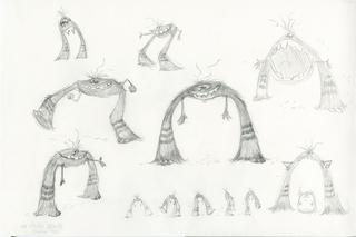Concept Art, Art, Monsters University, 2013