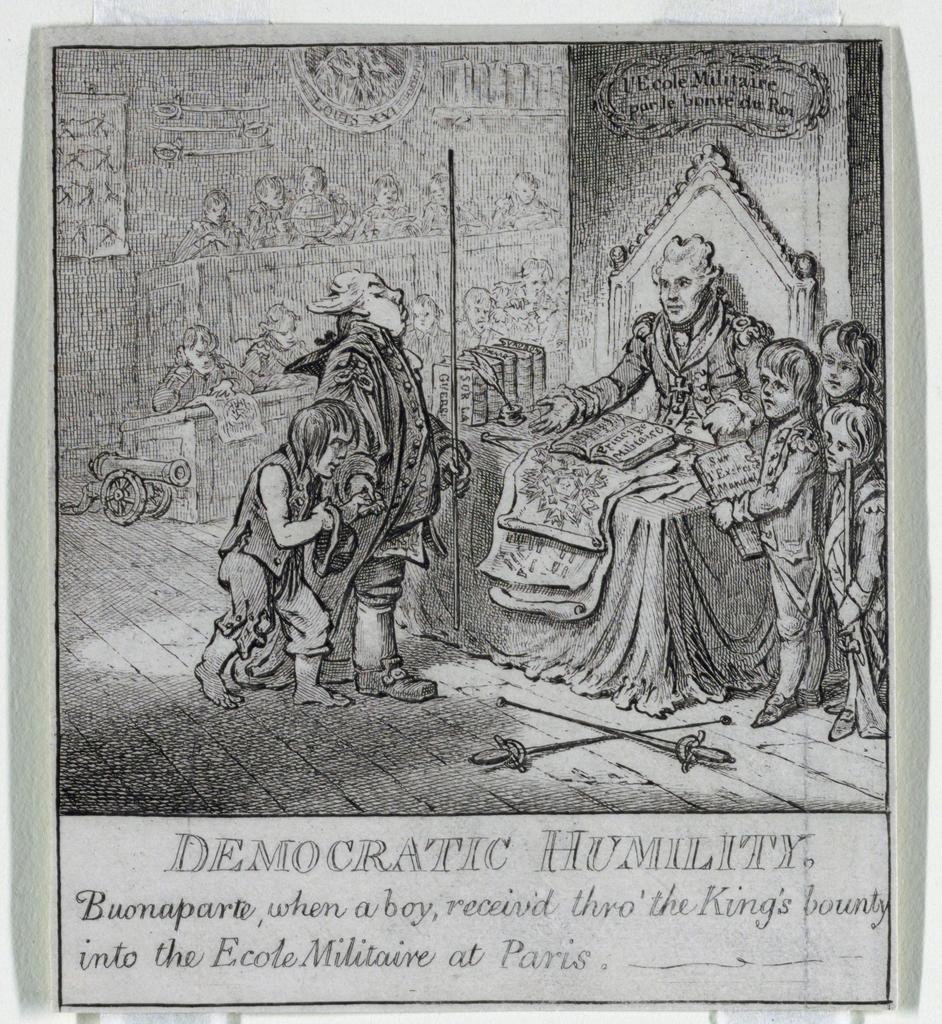 "Print, ""Democracy, or a Sketch o, 1800"