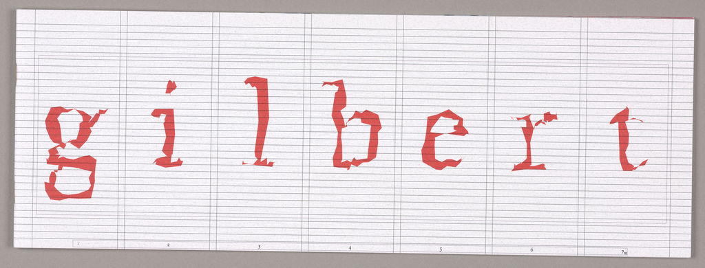 "Envelope, ""Gilbert Paper Exquisite"