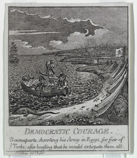 "Print, ""Democracy, or a Sketch o, 1800"