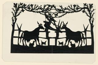 Silhouette, Barnyard Animals