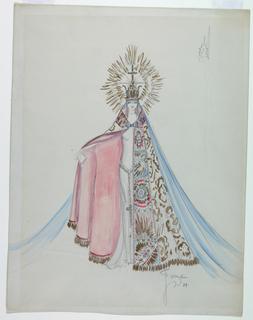 Drawing, Costume Design: Fioretta, Earl Carroll's Vanities of 1929