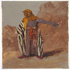 Drawing, Standing Bedouin