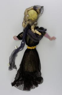 Sorrowful Lady Puppet