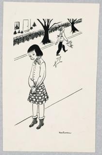 Print, Illustration for Carol's Side of the Street