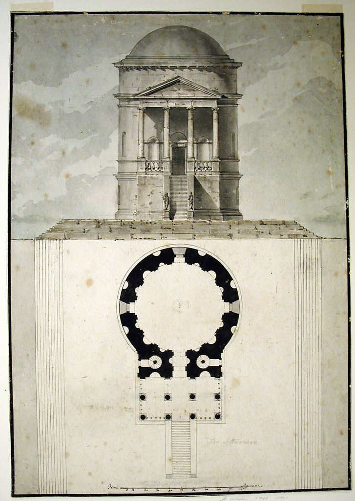 Drawing, A Classical Temple