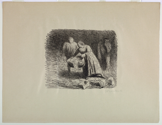 Print, Three Figures