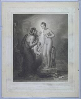 Print, Pygmalion and Galatea, 1824