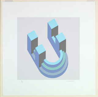 Print, Letter Q
