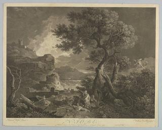 Print, Niobe, from Ovid's Metamorphoses, 1761