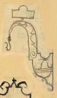 Drawing, Bracket design