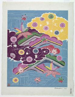 Print, Bingata, 1967