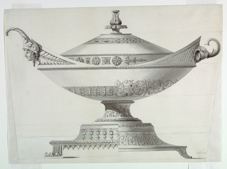 Drawing, Deign for a Covered Tureen
