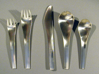 """Blue Shark"" Dinner Fork, 1965"