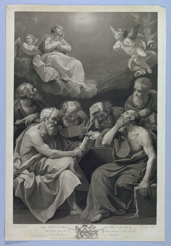 Print, The Doctors of the Church, 1785