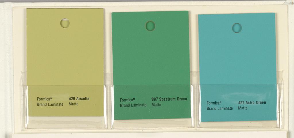 Sample Book, Formica Corporation Color+Color