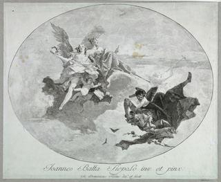 Print, Virtue and Glory Driving Away Avarice