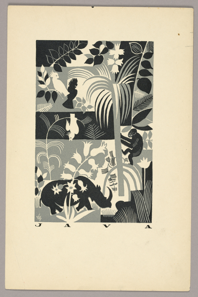 Print, Java, from The Travels of Marco Polo, 1930   Objects ...