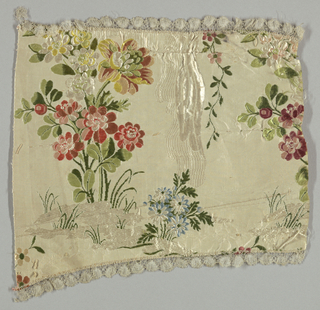 Ribbed cloth, brocade