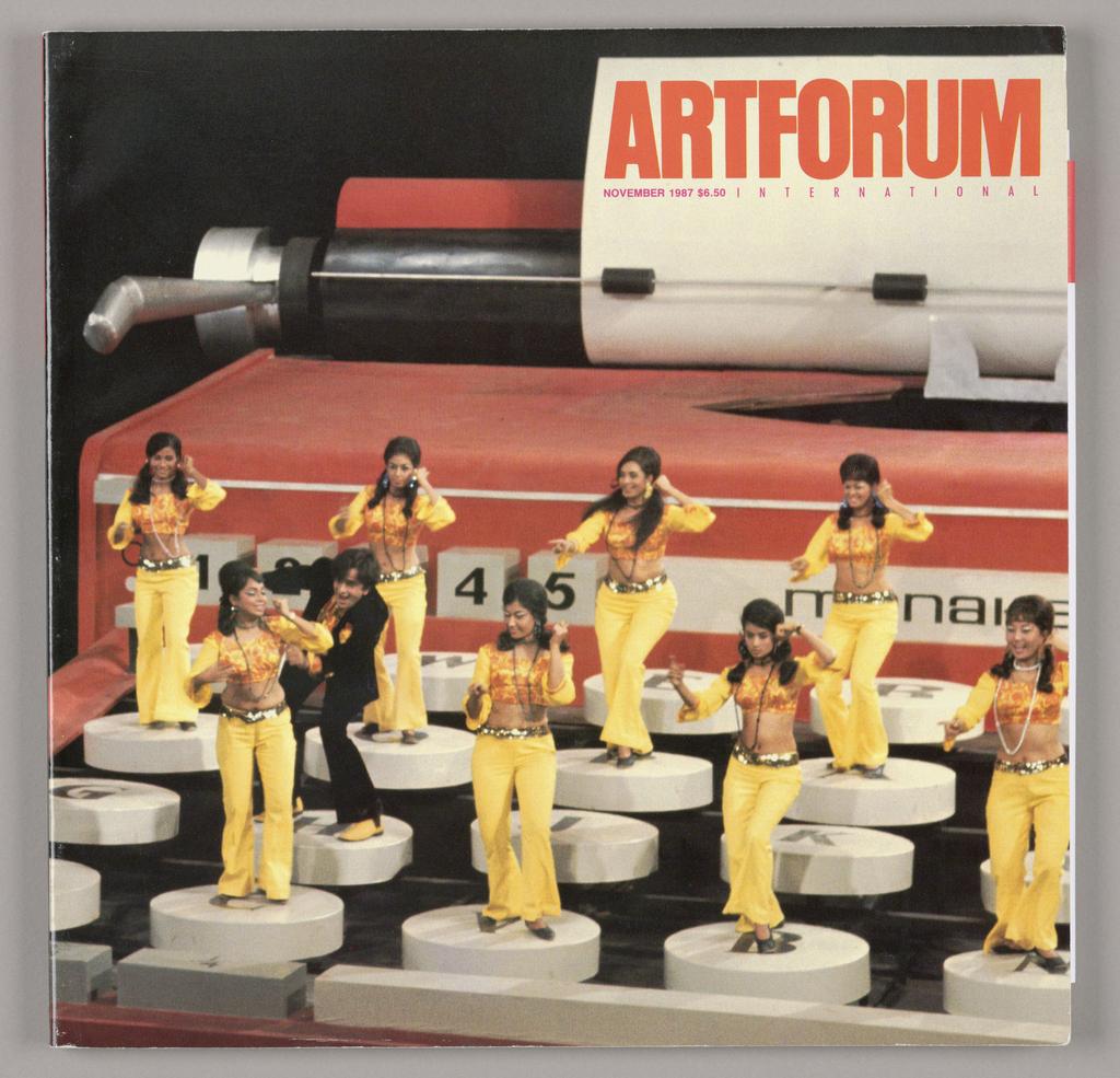 Magazine, Artforum International Magazine, November 1987, 1987