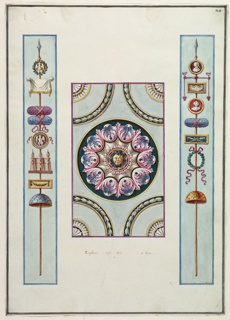 Drawing, Wall Decoration, ca. 1776