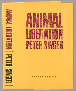 Book Jacket, Animal Liberation