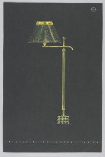 Drawing, 10. Floor lamp