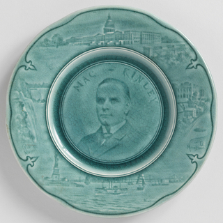 MacKinley Plate, ca. 1897–1901