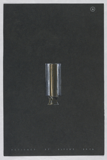 Drawing, 14. Table lamp with short