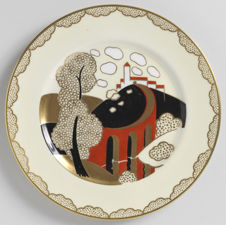 Plate (France), ca. 1925