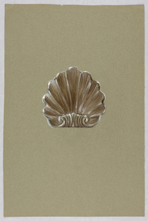 Drawing, Brown shell