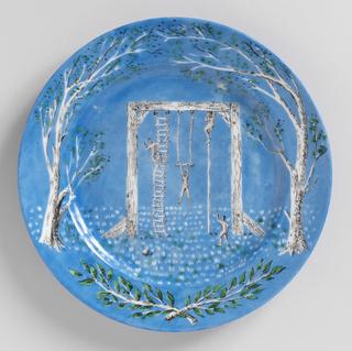 6 china plates - Edite par Christofe (description for components a-f)