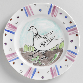 Plate (France), ca. 1950