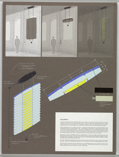 Drawing, Design for Solar Blind, 1991