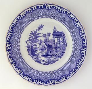 Spetsmönstret (Lace pattern) Plate