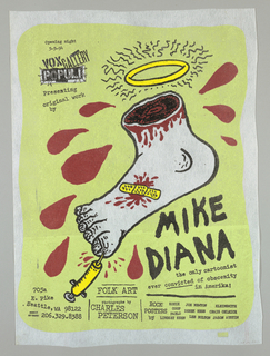 Poster, Mike Diana