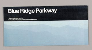 Map, Map for National Parks Service: Blue Ridge Parkway, 1992