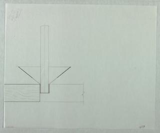 Drawing, Candela Tavola: Outline o, 1989