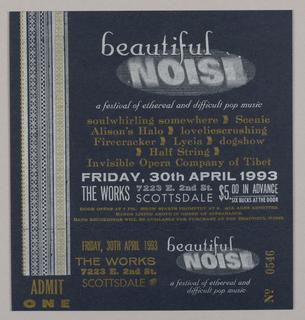 Flyer, Beautiful Noise