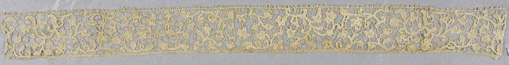 Needle lace; mid-17th century Point Plat de Venise