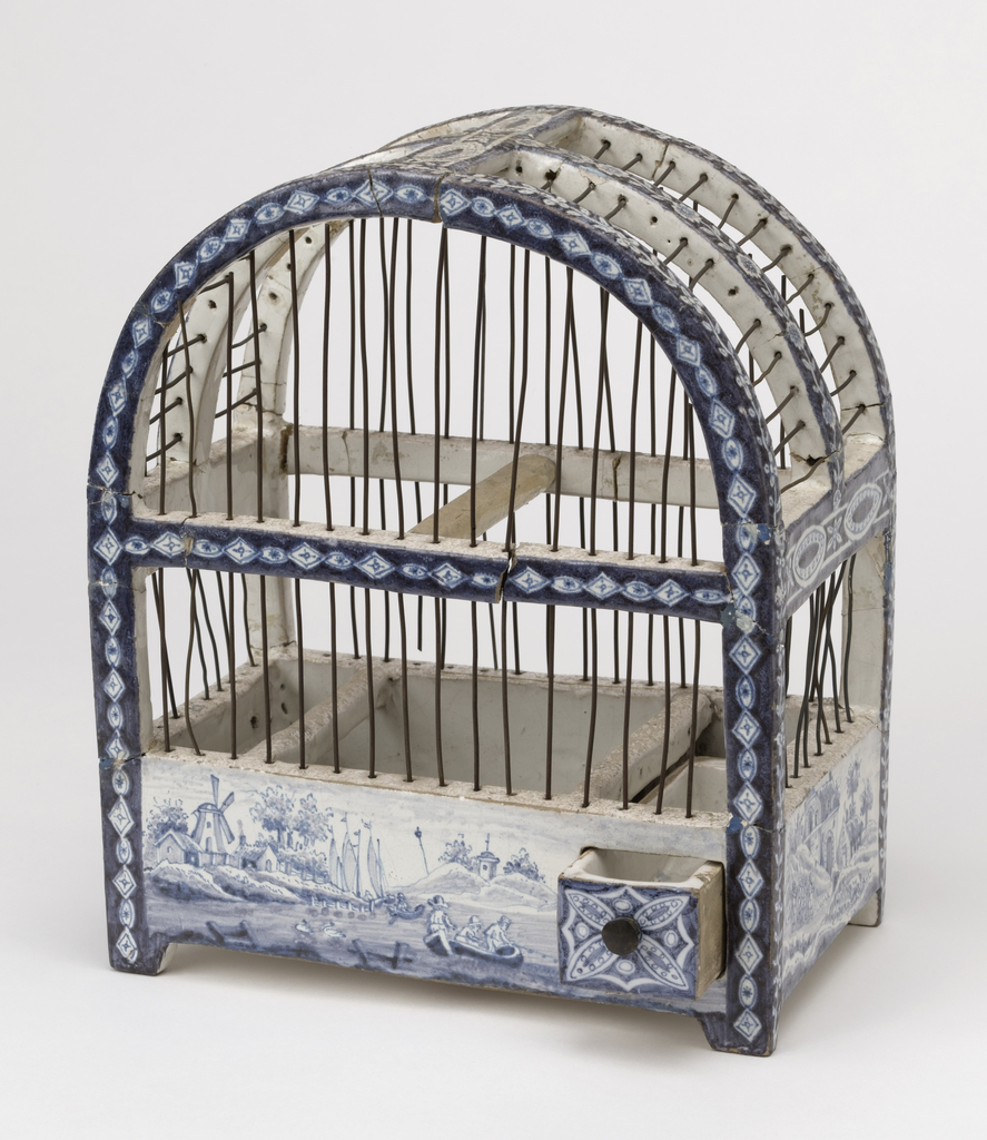 Birdcage (Netherlands), 1750–1800 | Objects | Collection of Cooper ...